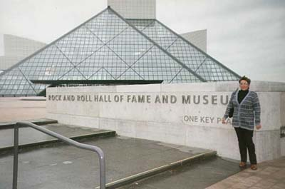 Rosie @ Rock N Roll Hall of Fame